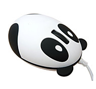 Super Cute Panda Unique Design Portable Usb Wired Optical Exquisite Lovely Fashionable Small Mini Mouse
