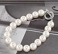 cheap -Women's Pearl Imitation Pearl Others Strand Bracelet - Unique Design Fashion White Bracelet For Party Daily Casual