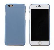 Hülle Für iPhone 6 iPhone 6 Plus Ultra dünn Transparent Rückseitenabdeckung Volltonfarbe Hart PC für iPhone 6s Plus iPhone 6 Plus iPhone