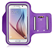 cheap -Case For Universal with Windows Armband Armband Solid Color Soft Textile for S6 edge S6 S5 S4 S3