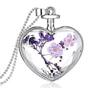 cheap -Men's Women's Sterling Silver Pendant  -  Fashion Purple Necklace For Wedding Party Daily