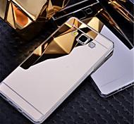 Недорогие -Для Кейс для  Samsung Galaxy Покрытие / Зеркальная поверхность Кейс для Задняя крышка Кейс для Один цвет PC Samsung A8 / A7 / A5 / A3