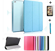 cheap -For iPad (2017) Smart Cover Leather Case+PC Translucent Back Case For iPad Air Air2 Pro 9.7 iPad 2/3/4 mini 123 mini4