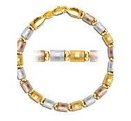 Chaînes & Bracelets (Plaqué argent / Plaqué or / Plaqué Or Rose) Mariage / Soirée / Quotidien / Décontracté / Sports / N/C