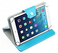 universal pu caso tampa do suporte de couro para 7 polegadas tablet pc cor pura
