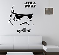 cheap -People Still Life Romance Military Fashion Shapes Fantasy Leisure Cartoon Holiday Vintage Wall Stickers 3D Wall Stickers Decorative Wall