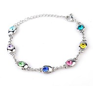 Hot New Charming Lovely Simple Bling Crystal Bracelet Bangle Party Jewelry For Women