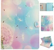 ангел одуванчика цветной рисунок или узор пу кожаный фолиант случай таблетки кобуры для Ipad Ipad AIR2 воздуха