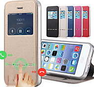cheap -Case For Apple iPhone 8 iPhone 8 Plus iPhone 5 Case iPhone 6 iPhone 6 Plus iPhone 7 Plus iPhone 7 with Stand with Windows Flip Full Body