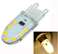 cheap -200-300 lm G9 LED Bi-pin Lights Recessed Retrofit 14 leds SMD 2835 Dimmable Decorative Warm White AC 220-240V