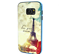 Multi-Pattern Design Back Cover+Bumper Cover Case for Samsung Galaxy S7 (Assorted Color)