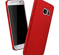 Недорогие -Для Samsung Galaxy S7 Edge С узором Кейс для Задняя крышка Кейс для Один цвет PC Samsung S7 edge / S7