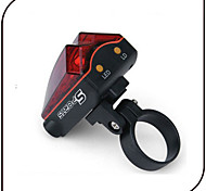 Eclairage de Vélo / bicyclette Lampe Arrière de Vélo Laser LED - Cyclisme Imperméable Laser AAA 80 Lumens Batterie Cyclisme-XIE SHENG®