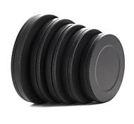 металл объектив фильтр передний задний крышка защитная коробка портативный 37 / 40,5 / 43/46 / 49мм