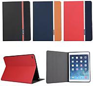 ретро моды люкс кожа флип бумажник стенд случай для Apple Ipad воздуха 2/6
