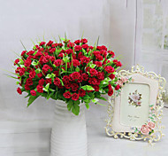 baratos -flores artificiais 7 cabeças de alta qualidade flores lilás flor de seda flores de seda para decoração de casa 1pc / set