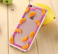 Недорогие -футляр задней панели tpu для iphone6,6s (сортированный цвет) iphone случаи