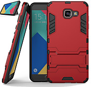 War Silica Gel PC Combo Bracket Models Armor Protection Phone Case for Samsung Galaxy A8/A510/A710