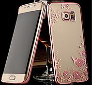 Für Samsung Galaxy Note Transparent Hülle Rückseitenabdeckung Hülle Blume TPU Samsung Note 5 / Note 4 / Note 3