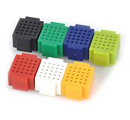 Недорогие -7pcs мини 25 пункт макетная разьемное прототип тай-точка для Arduino Raspberry Pi