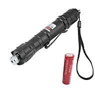LS1667 Powerful 5miles 532nm Green Laser Pointer Strong Pen 8000m Laser Pointer+18650 Battery