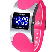 cheap -Women's Digital Sport Watch LED Silicone Band Luxury Fashion Black Blue Rose