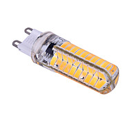 ywxlight® 7w e14 g9 g4 led bi-pin lights 80smd 5730 550 lm quente / frio branco dimmable ac 220v 1pc