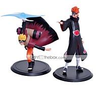 Las figuras de acción del anime Inspirado por Naruto Naruto Uzumaki PVC 16 CM Juegos de construcción muñeca de juguete
