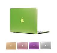 """Недорогие -матовый металл цвет покрытие кейс полное тело для Macbook Air 11 """"Pro 13"""" / 15 """""""