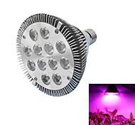 baratos -12W 490-700 lm E26/E27 Lâmpadas crescentes PAR30 12 leds LED de Alta Potência Azul Vermelho AC 85-265V