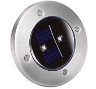 cheap -Solar 2-LED Decking Ground Light for Garden Landscape Lighting, Pathway, Stairway