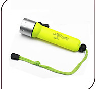 YG16 LED Flashlights / Torch Diving Flashlights/Torch LED 1000 lm 3 Mode LED Waterproof Small Size for Everyday Use Diving/Boating Water