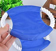 Игрушка для собак Игрушки для животных Летающие тарелки Веревка Цвет отправляется в случайном порядке Текстиль
