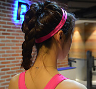 Недорогие -женщины мужчины йога ленты для волос оголовье спорта противоскользящие эластичная резина Sweatband футбол йога бег езда на велосипеде