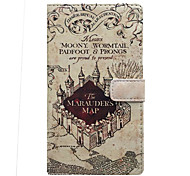 Castle Around with The Card Holder Leather for Samsung Galaxy A3(2016)A5(016)/A7(2016)