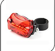 Luz Trasera para Bicicleta luces de seguridad LED - Ciclismo Impermeable antideslizante Luz LED AAA 80 Lumens Batería Ciclismo-XIE SHENG®