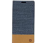 Недорогие -Кейс для Назначение SSamsung Galaxy Кейс для  Samsung Galaxy Бумажник для карт со стендом Флип Чехол Полосы / волосы Кожа PU для J5 (2016)