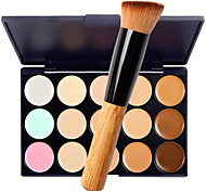 cheap -15 Concealer/Contour Wet Matte Shimmer Cream Whitening Moisture Coverage Long Lasting Concealer Natural Pore-Minimizing Sensitive &