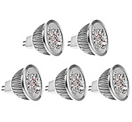4W GU5.3(MR16) LED Spot Lampen MR16 4 Hochleistungs - LED 400-450 lm Warmes Weiß K DC 12 V