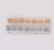 Недорогие -beadia 1 шт моды заключения ювелирных изделий омара пряжки&Перейти кольцо&обжимной колпачки&расширение сети&серьги