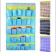 Недорогие -Мешки для хранения / Организация одежды Текстиль сОсобенность является Открытые , Для Бижутерия / Галстуки