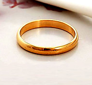 cheap -Women's Gold Plated Couple Rings Statement Ring Band Ring - Fashion Black Silver Golden Ring For Wedding Party Daily Casual Sports