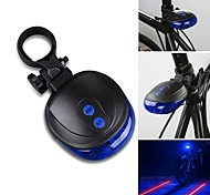 Rear Bike Light Laser LED - Cycling Waterproof LED Light Laser AAA 1000 Lumens Battery Cycling/Bike