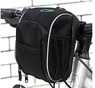 Bike Bag 1.3LBike Handlebar Bag Waterproof Quick Dry Rain-Proof Bicycle Bag Oxford Terylene Nylon Cycle Bag - Cycling/Bike