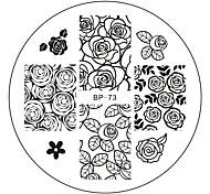 Недорогие -печатная пластина маникюрный передачи пластины серии инструмент п.н. маникюрный печатные пластины