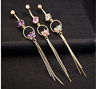 cheap -Body Jewelry/Navel Rings/Belly Piercing Stainless Steel Others Unique Design Fashion 1pc