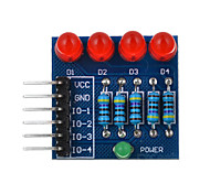 cheap -4P LED Diode PWM Dimming Module Red Light - Blue + Red + Multicolor Suitable for Arduino Scientific Research