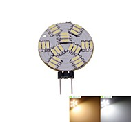 Недорогие -2w g4 led spotlight mr11 27 smd 4014 120-150lm теплый белый натуральный белый 3000-3500 6000-6500k dimmable dc 12v