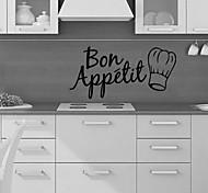 Недорогие -Геометрия Продукты питания Наклейки Простые наклейки Декоративные наклейки на стены, ПВХ Украшение дома Наклейка на стену Стена