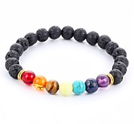 New Arrival Multicolor Nature Stone Bracelet Strand Bracelets Daily / Casual 1pc Jewelry Christmas Gifts
